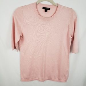 Banana Republic Silk Cashmere Short Sleeve sweater